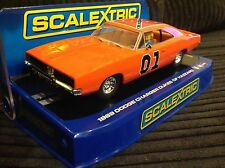 SCALEXTRIC 1969 DODGE CHARGER DUKES OF HAZZARD C3044 BOXED and UNUSED