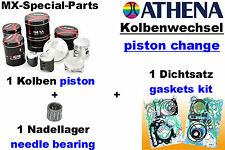Change of Piston KAWASAKI KX 65 KX65 # ATHENA Kit: + Needle bearing + Gasket set