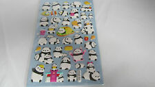 Lovely Panda Stickers - Nursery/Embellishment for Kids Party Goodies Bags