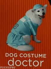 Halloween Doctor Scrubs Clothing Pet Dog Costume Size XSmall 2-6 lbs 6-9 in NWT