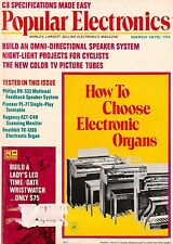 Popular Electronics  March 1975 4-Channel Equipment-Omni Directional Speakers