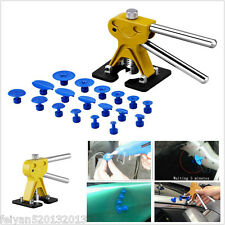 PDR Lifter Glue Puller Tab Hail Removal Paintless Dent Repair Tools +18pcs Tabs