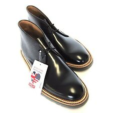 L-1576223 New Paul Smith Black Leather Chuka Boot Shoe  Size US 8 EUR 41