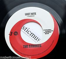 "THE STROKES FIRST RELEASE LAST NITE 7"" VINYL USA 2001 N.MINT"