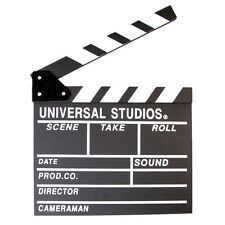 Clap Clapper Board Handmade Clapperboard Director TV Film Movie Cut/Action Slate