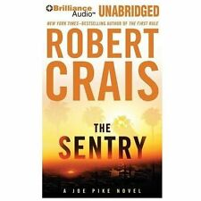 THE SENTRY unabridged audio book on CD by ROBERT CRAIS