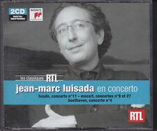 DOUBLE CD 12T JEAN MARC LUISADA EN CONCERTO MOZART, BEETHOVEN, HAYDN DE 2012