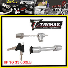 "TRIMAX Universal Stainless Steel patent Hitch Receiver Lock Pin 5/8"" 1/2""  New"