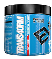 NEW EVLUTION NUTRITION TRANS4ORM FRUIT PUNCH FOCUS ENERGY THERMOGENIC SUPPLEMENT