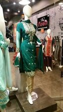 Pakistani Indian Bollywood designer 3 Piece Shah Posh Wedding Paris Dress