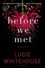 BEFORE WE MET [9781620407646] - LUCIE WHITEHOUSE (PAPERBACK) NEW
