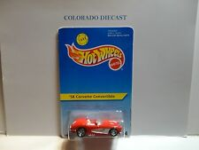 Hot Wheels #14 Red '58 Corvette Convertible