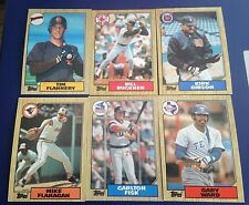 1987 Topps Baseball Cards. Finish your set. You Pick 25 W/STARS Nice Condition