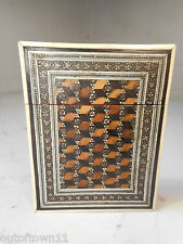 Antique Mosaic inlaid Card Case   1732