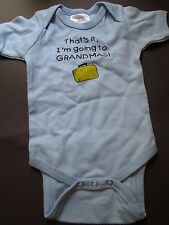 Swinging on a Star Baby Infant Boy's Onesie Size 0-3 Months