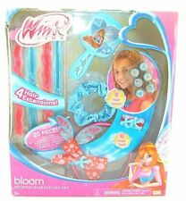 Girls 20 PC Winx Club BLOOM  Believix HAIR STYLING SET Extensions Headband NEW
