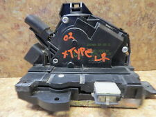 2002-2007 Jaguar X-Type LEFT REAR (Drivers Side) Door Latch with Lock Actuator