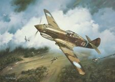 """""""First Blood"""" Roy Grinnell Print co-signed by Flying Tiger Ace David """"Tex"""" Hill"""