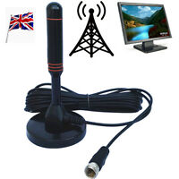 Best High Definition Caravan Digital Freeview Portable TV Antenna Aerial DVB-T