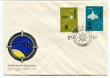 1963 Zdobywnie Kosmosu Pierwszy Dzien Obiegu FDC Warszawa Polska SPACE NASA