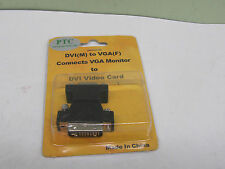 BRAND NEW DVI (M) to VGA(F) Cable Adapter, M/F