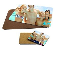 Personalised Any Photo Or Design MDF Hard Backed Placemat & Coaster Set