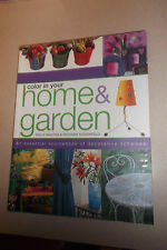 Color in Your Home and Garden by Richard Rosenfeld, Sally Walton 2001