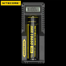 Nitecore UM10 Intelligent Digi Charger For 18650 18490 16340 14500 17500 Battery