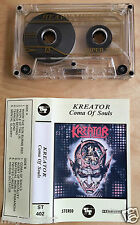 KREATOR - Coma of souls MC RARE 1'ST POLISH PRESS 1990 SUPER TAPE REC.