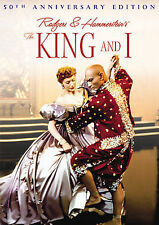 The King and I (50th Anniversary Edition), Good DVD, Yul Brynner, Deborah Kerr,