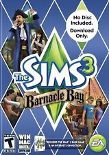 THE SIMS 3 BARNACLE BAY ADD-ON EXPANSION (CD KEY-DOWNLOAD ONLY-NO DISC) NEW