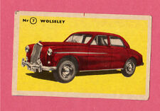 Wolseley Vintage 1950s Car Collector Card from Sweden