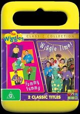 The Wiggles - Wiggle Time! / Yummy Yummy (DVD, only no box)