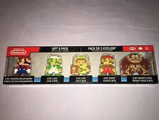 WORLD OF NINTENDO 8-BIT GIFT 5 PACK COLLECTIBLE Mini Figures  **NEW**