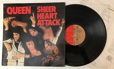 Queen - Sheer Heart Attack - 1974 UK 1st Press Vinyl LP Record EMC 3061 (VG+)
