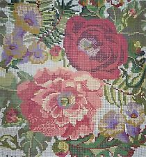 Ehrman OLD ENGLISH ROSE (Avorio) J&J SEATON Arazzo NEEDLEPOINT KIT-VINTAGE
