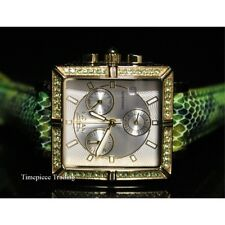 Invicta 10330 Wildflower Classique Quartz Crystal Accented Green Women Watch SET