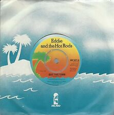 "EDDIE & THE HOT RODS - QUIT THIS TOWN - UK 1977 ISSUE 7"" VINYL - WIP 6411"