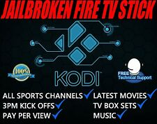 Amazon Fire TV Stick + Kodi Fully Loaded✅ Sports✅ TV Shows✅ Movies✅  Mobdro✅