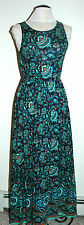 Lucky Brand Women's Floral Maxi Dress Size L Blue 7WD6883 $69.50 NWT