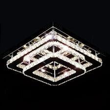 Led design glass crystal chandelier ceiling pendant lamp lighting fitting living