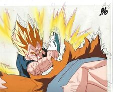 Dragonball Z Majin Vegeta Anime Production Cel Cellulo Toei