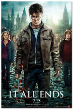 Harry Potter and the Deathly Hallows Movie Art Silk Poster 24x36inch 004