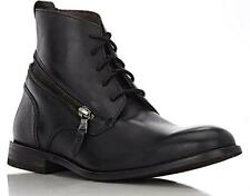 New in Box - $398.00 JOHN VARVATOS Star Zip Wrap Black Leather Boots Size 10