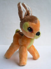 BAMBI DEER VINTAGE SOFT TOY DISNEY CLASSICS PELUCHE COLLECTABLE 90s