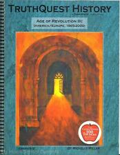 NEW TruthQuest History Guide AGE OF REVOLUTION III Christian Homeschool Resource