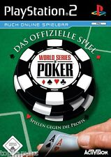 World Series of Poker-Activision-SONY PLAYSTATION 2-ps2