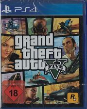 Grand theft auto v GTA 5-ps4-playstation 4-NEUF & OVP-version allemande!