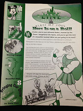 Cast Member Newsletter Disneyland Line Vol 29 #25 June 1997 Herc on a Roll!