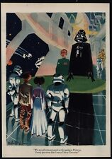 1977 STAR WARS Cartoon- DARTH VADER Was Reincarnated - He Used To Be A Corvette